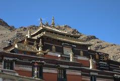 Het Klooster van Tashilhunpo Stock Afbeeldingen