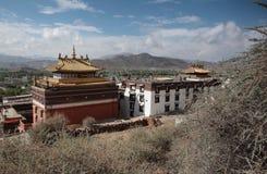 Het klooster van Tashilumpo Stock Foto's
