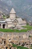 Het klooster van Tatev Stock Afbeeldingen