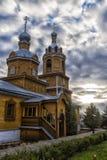 Het Klooster van Tikhvinbogorodichny Uspensky is Orthodox m van vrouwen Royalty-vrije Stock Afbeeldingen
