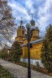 Het Klooster van Tikhvinbogorodichny Uspensky is Orthodox m van vrouwen Stock Fotografie