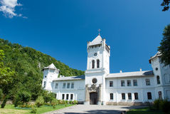 Het klooster van Tismana Stock Foto