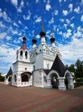 Het klooster van Troitskiy in Murom in de zomer. Rusland Royalty-vrije Stock Afbeeldingen