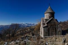 Het klooster van Tsakhatskar Stock Foto's