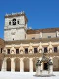 Het klooster van Ucles in Cuenca provincie, Spanje Stock Afbeeldingen