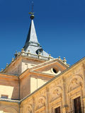 Het klooster van Ucles in Cuenca provincie, Spanje Stock Foto