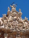 Het klooster van Ucles in Cuenca provincie, Spanje Stock Fotografie
