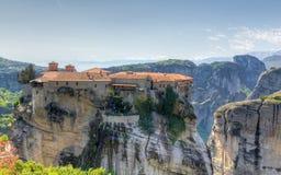 Het klooster van Varlaam, Meteora, Griekenland Royalty-vrije Stock Afbeelding