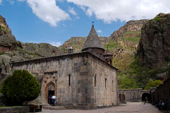 Het klooster van Virap van Khor Royalty-vrije Stock Foto's