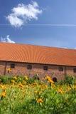 Het Klooster van Vorfrue, een Carmelite klooster in Elsinore Helsing Stock Foto's