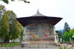 Het klooster van Voronet Royalty-vrije Stock Foto's