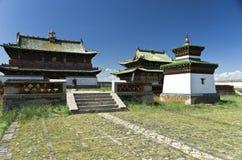 Het Klooster van Zuu van Erdene, Kharkhorin, Mongolië Royalty-vrije Stock Afbeelding