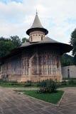 Het klooster Voronet Stock Foto's