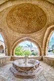Het kloosterfontein van Agianapa in Cyprus 4 stock foto's