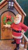Het Kloppen van de kerstman Stock Fotografie