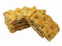 Het Knäckebrood van de rogge Stock Afbeeldingen