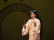 """Het knappe jongen-Kunqu Opera """"the Westen Chamber† Stock Foto's"""