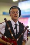 Het knappe Schotse mannelijke model Royalty-vrije Stock Afbeeldingen