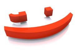 Het Knipogen van de tekst Illustratie Stock Foto's