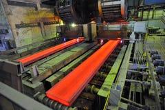 Het knipsel van het gas van het hete metaal stock foto