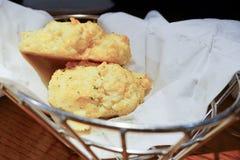 Het koekje van de cheddarbaai Royalty-vrije Stock Afbeeldingen