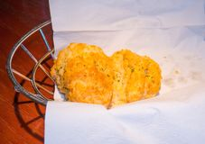 Het koekje van de cheddarbaai stock foto