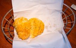 Het koekje van de cheddarbaai stock foto's