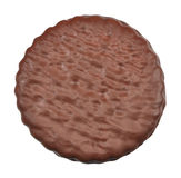 Het koekje van de chocolade stock afbeelding