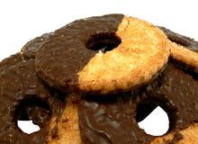 Het koekje van de chocolade Stock Afbeeldingen