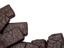 Het koekje van de chocoladesandwich Royalty-vrije Stock Afbeelding