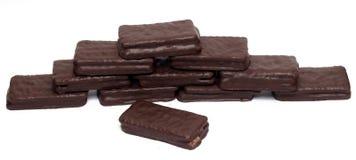 Het koekje van de chocoladesandwich Royalty-vrije Stock Foto