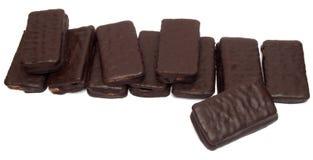 Het koekje van de chocoladesandwich Stock Afbeeldingen