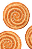 Het koekje van de cirkel royalty-vrije stock afbeelding