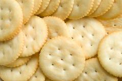 Het Koekje van de cracker royalty-vrije stock afbeelding