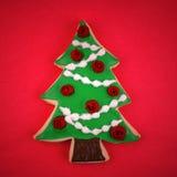 Het Koekje van de kerstboom royalty-vrije stock foto