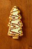 Het koekje van de kerstboom royalty-vrije stock foto's