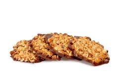 Het koekje van de pinda Stock Foto's