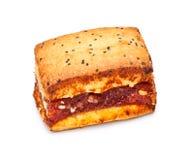 Het Koekje van de sandwich royalty-vrije stock fotografie