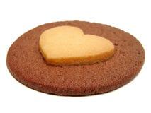 Het koekje van het hart Royalty-vrije Stock Foto's