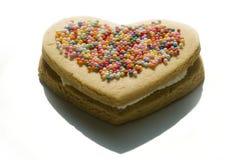 Het koekje van het liefje stock afbeelding