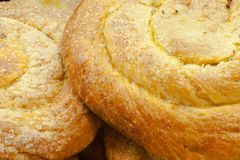 Het koekje van het scone met verpletterde sesamzaden Turkse tahine börek Royalty-vrije Stock Fotografie