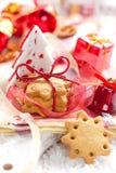 Het koekje van Kerstmis Stock Afbeelding