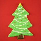 Het koekje van Kerstmis. stock foto