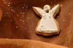 Het Koekje van Kerstmis van de engel royalty-vrije stock afbeeldingen