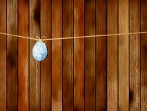 Het koekje van Pasen over houten lijst. + EPS8 Royalty-vrije Stock Afbeelding