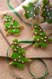 Het koekjesboom van Kerstmis royalty-vrije stock fotografie