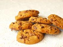 Het koekjesspaanders van de chocolade Royalty-vrije Stock Foto's