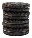 Het koekjesstapel van de chocolade Royalty-vrije Stock Afbeeldingen