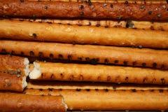 Het koekjesstokken van het kraken stock foto