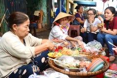 Het koekt - de keuken van Vietnam Stock Afbeeldingen